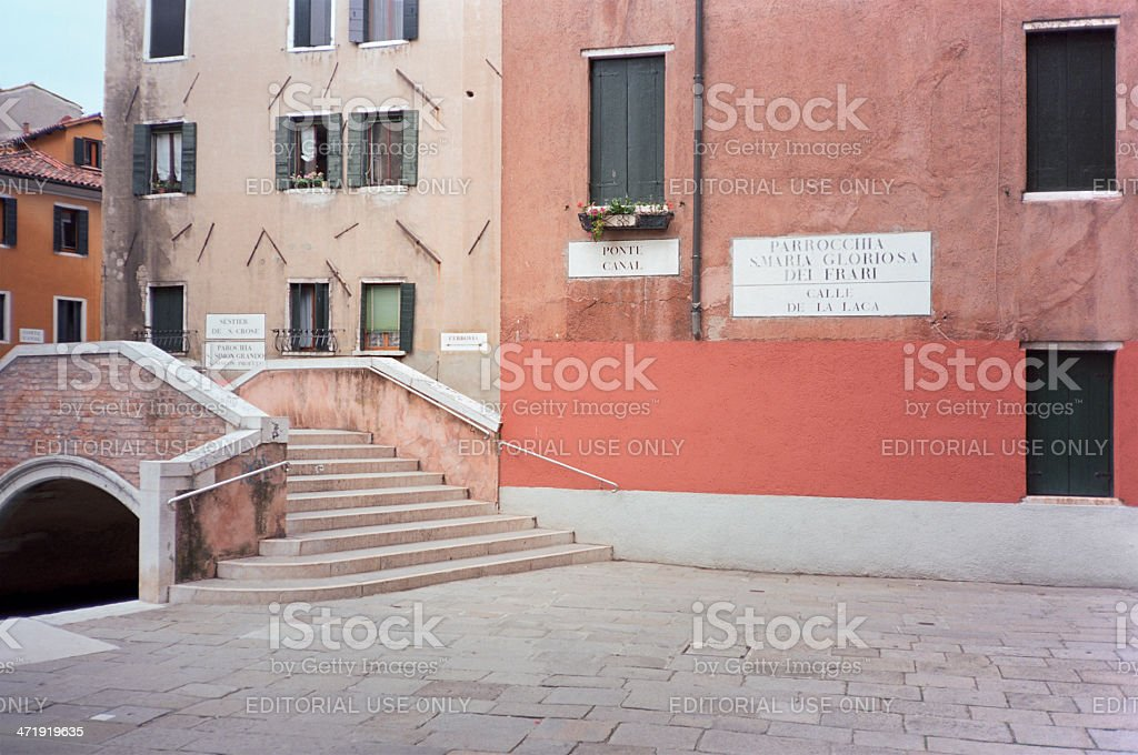 Parrocchia Santa Maria Gloriosa dei Frari, Venezia royalty-free stock photo
