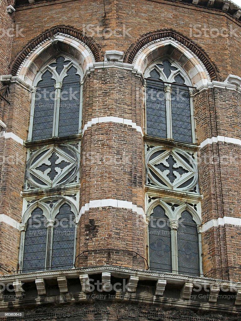 Santa Maria Gloriosa dei Frari - Venice stock photo