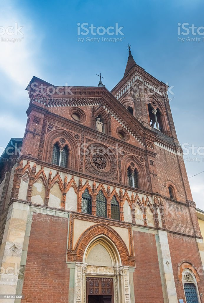 Santa Maria in Strada church, Monza, Lombardy, Northern Italy. stock photo