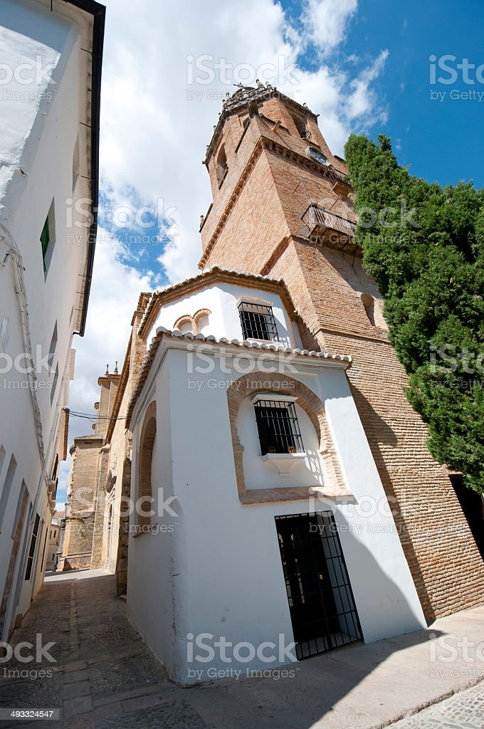 Santa Maria la Mayor Church stock photo