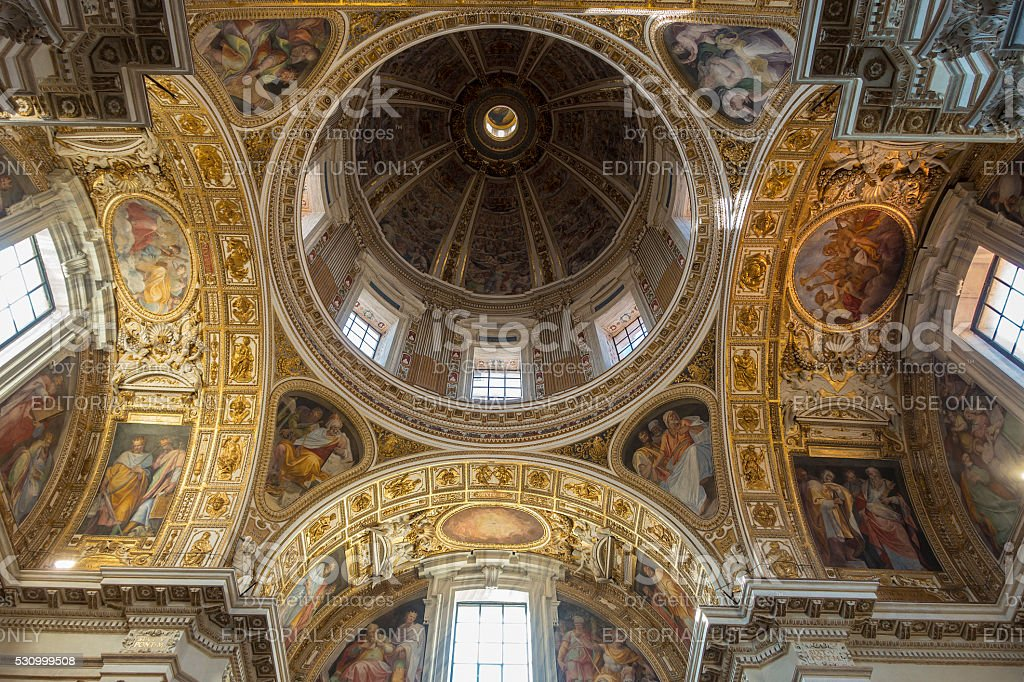 Santa Maria Maggiore stock photo