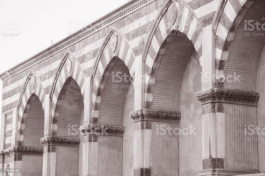 Santa Maria Novella Church, Florence stock photo