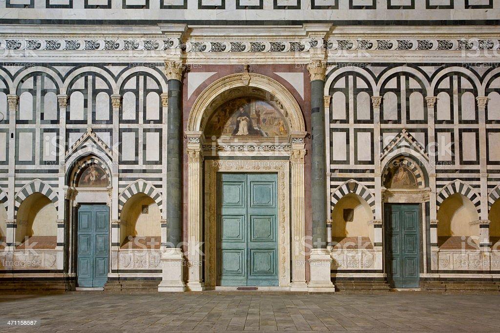 Santa Maria Novella, Florence royalty-free stock photo