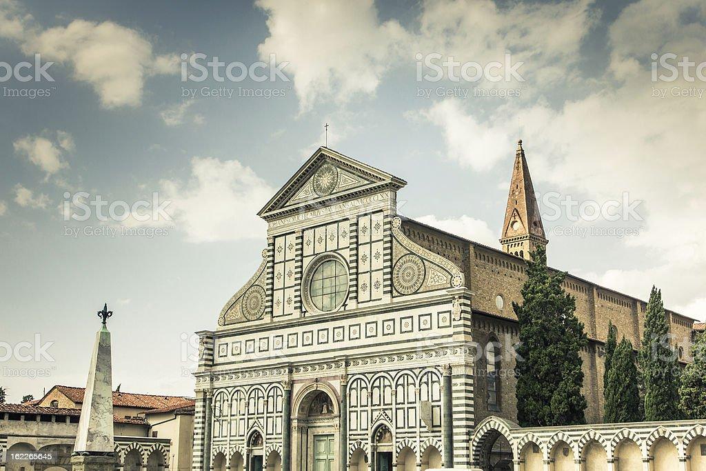 Santa Maria Novella royalty-free stock photo