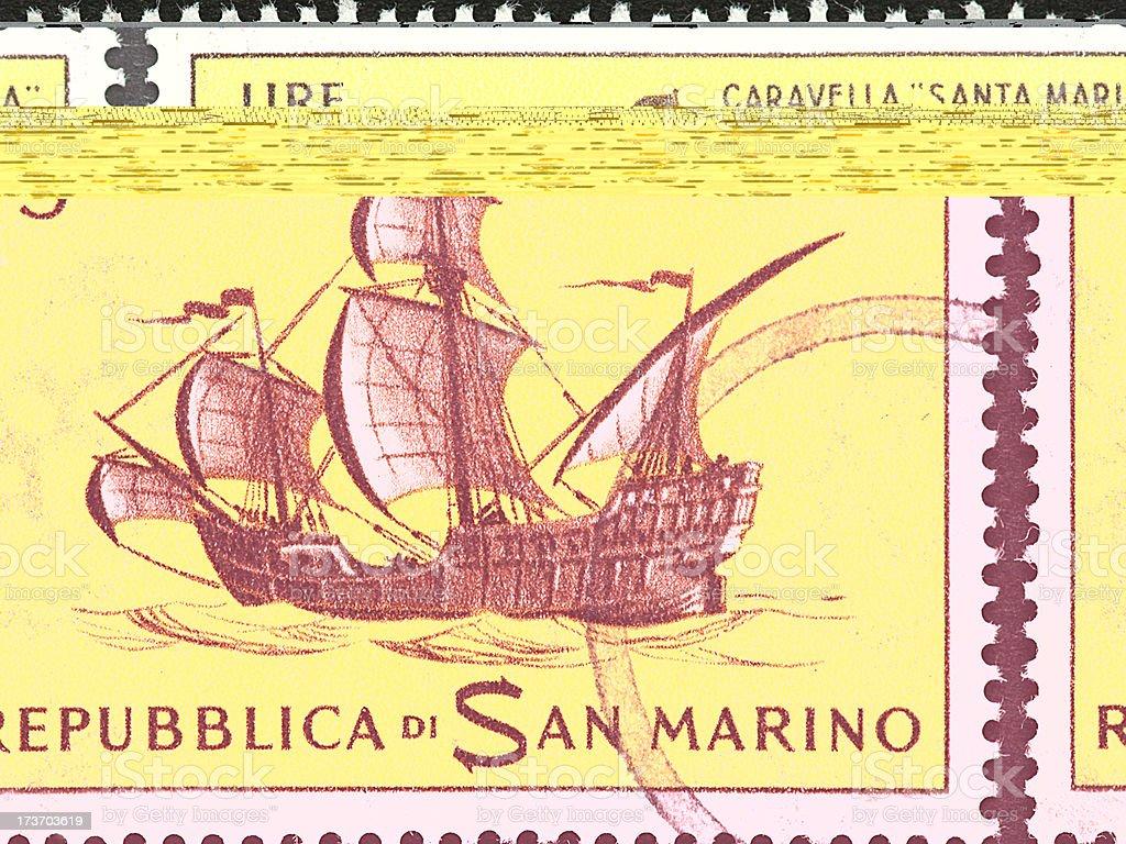 Santa Maria royalty-free stock photo