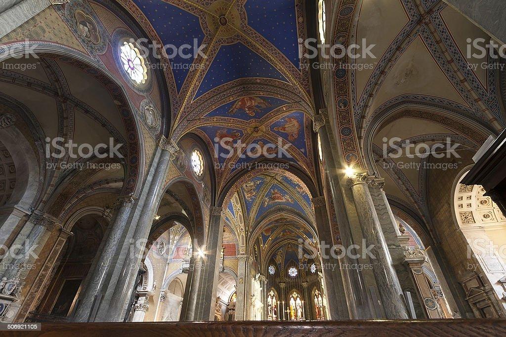 Kirche Santa Maria Sopra Minerva Lizenzfreies stock-foto