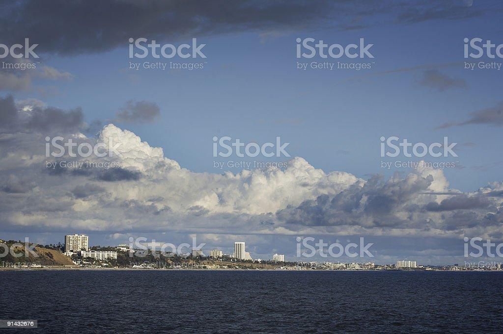 Santa Monica, California royalty-free stock photo