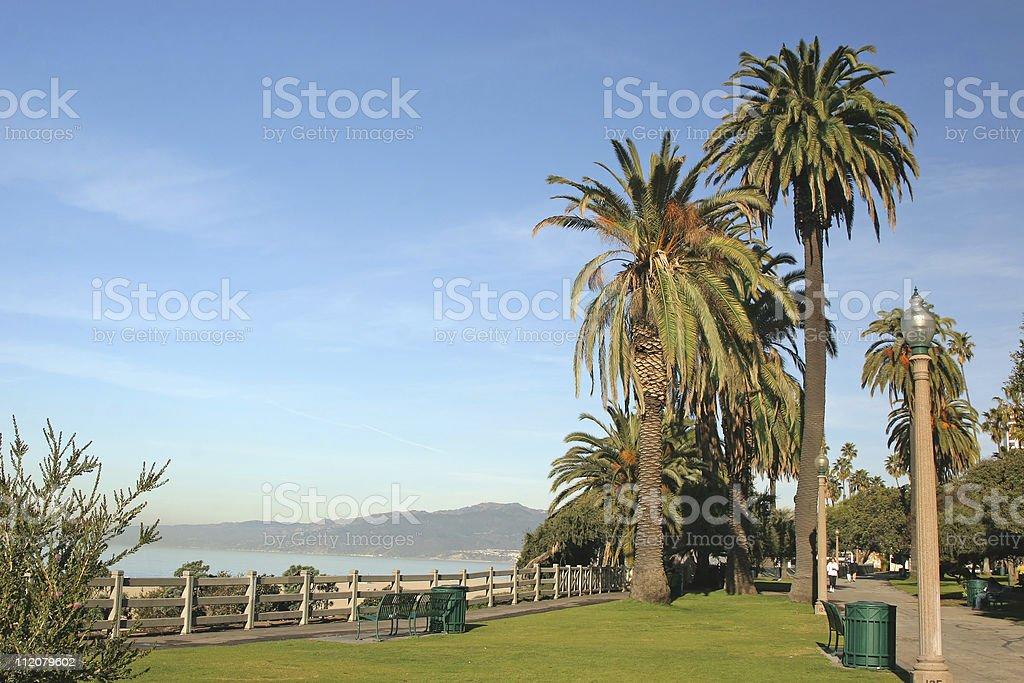 Santa Monica Ocean View royalty-free stock photo