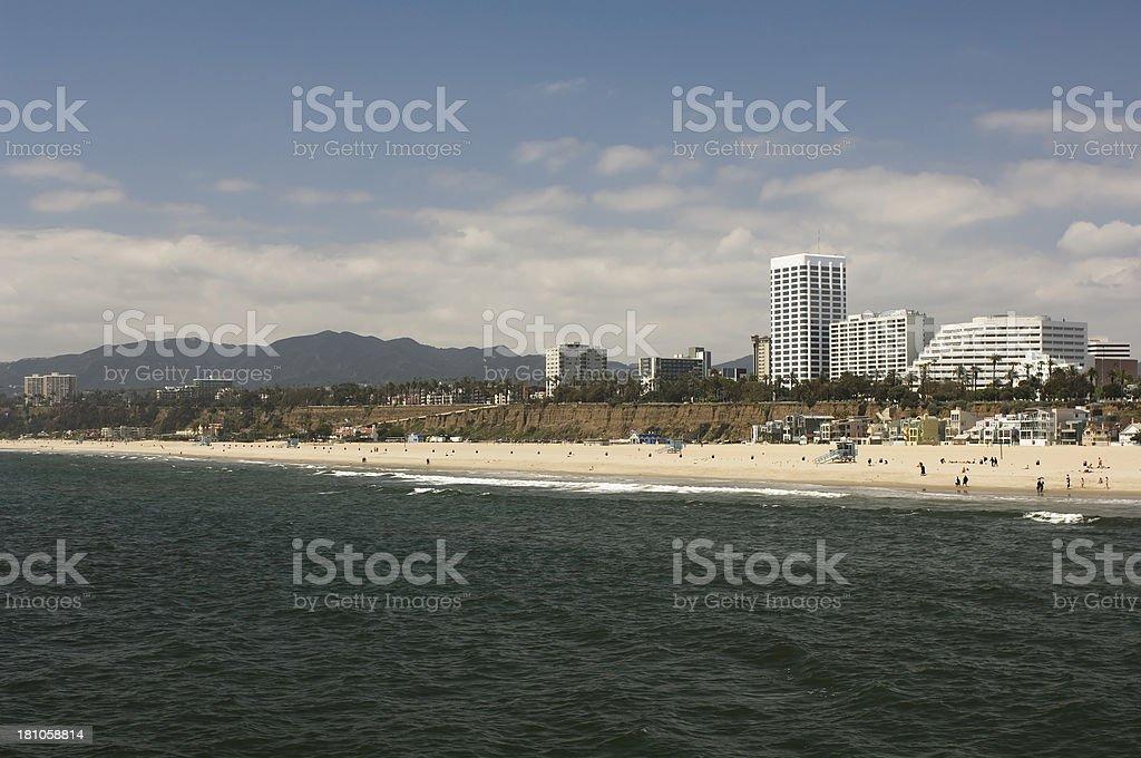 Santa Monica royalty-free stock photo