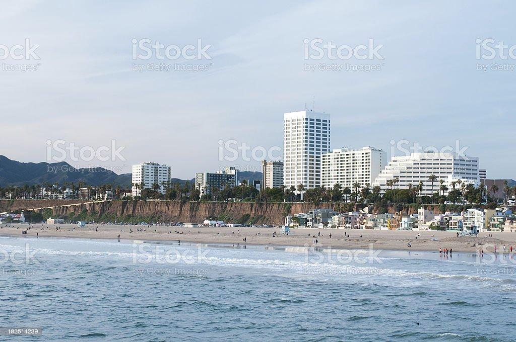 Santa Monica View royalty-free stock photo