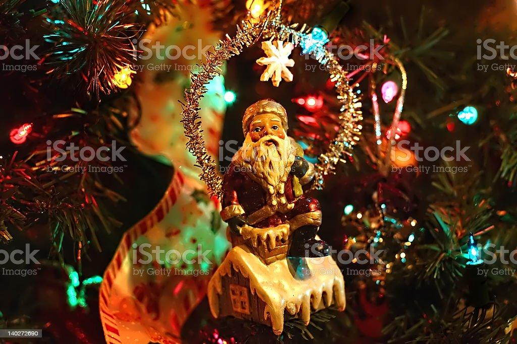 santa décoration photo libre de droits
