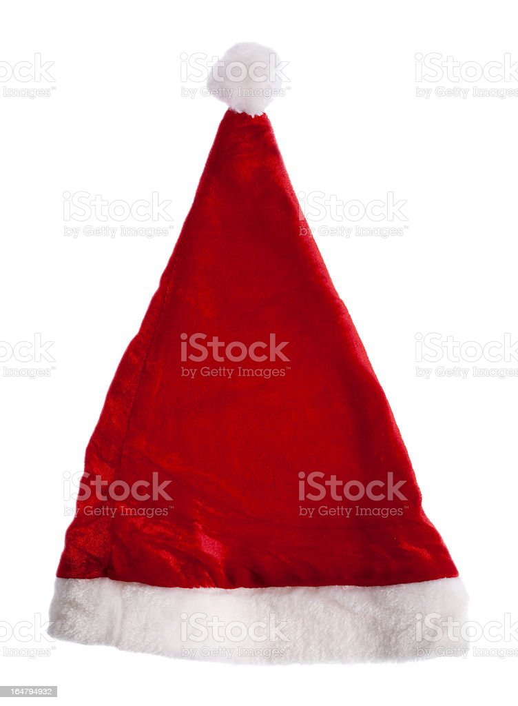 Santa red hat royalty-free stock photo