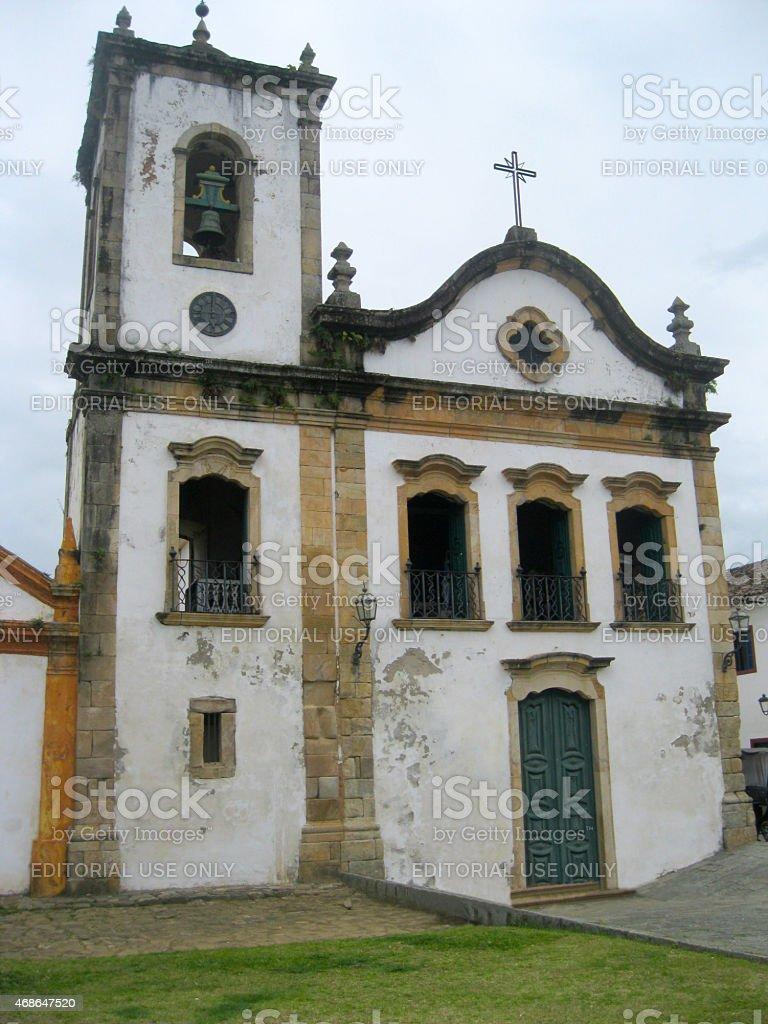 Santa Rita Church - built in 1722 stock photo