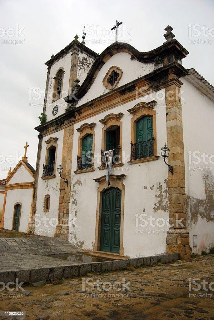 Santa Rita Church stock photo