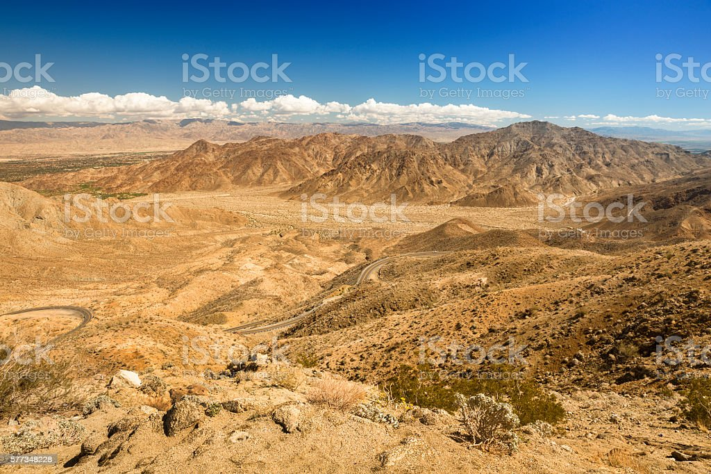 Santa Rosa and San Jacinto Mountains National Monument stock photo