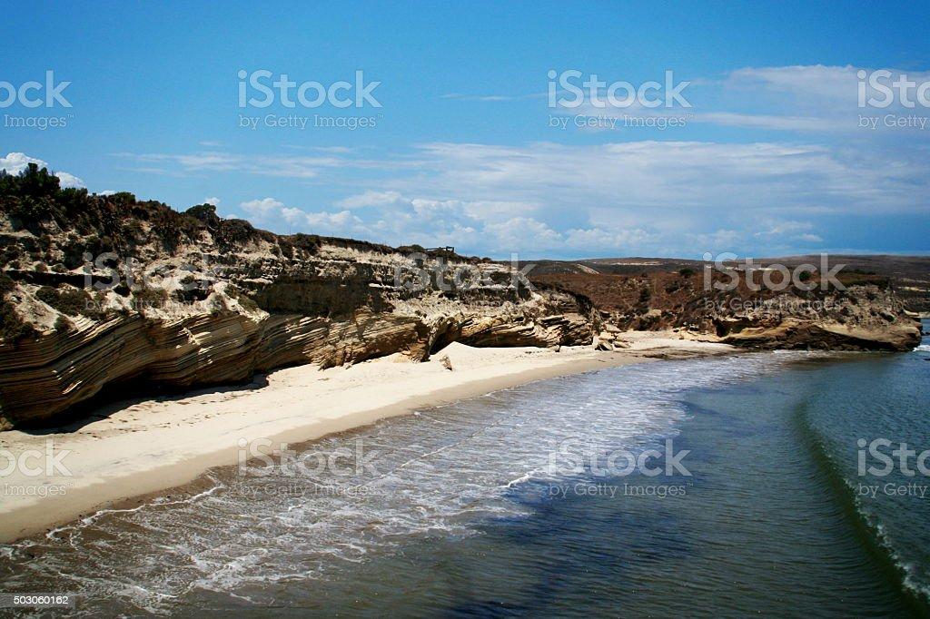 Santa Rosa Beach stock photo