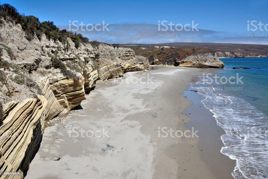 Santa Rosa Cliffs stock photo