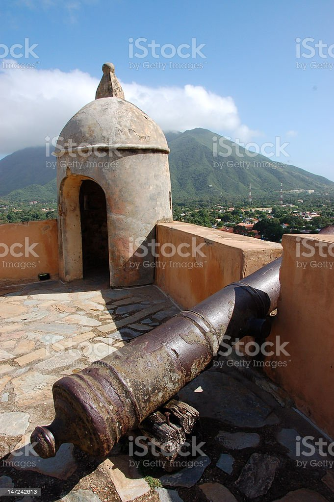 Santa Rosa Fort stock photo