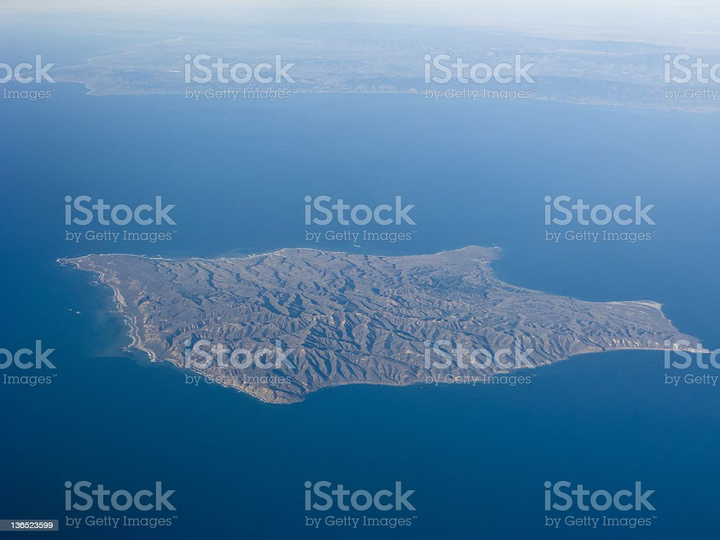 Santa Rosa Island stock photo