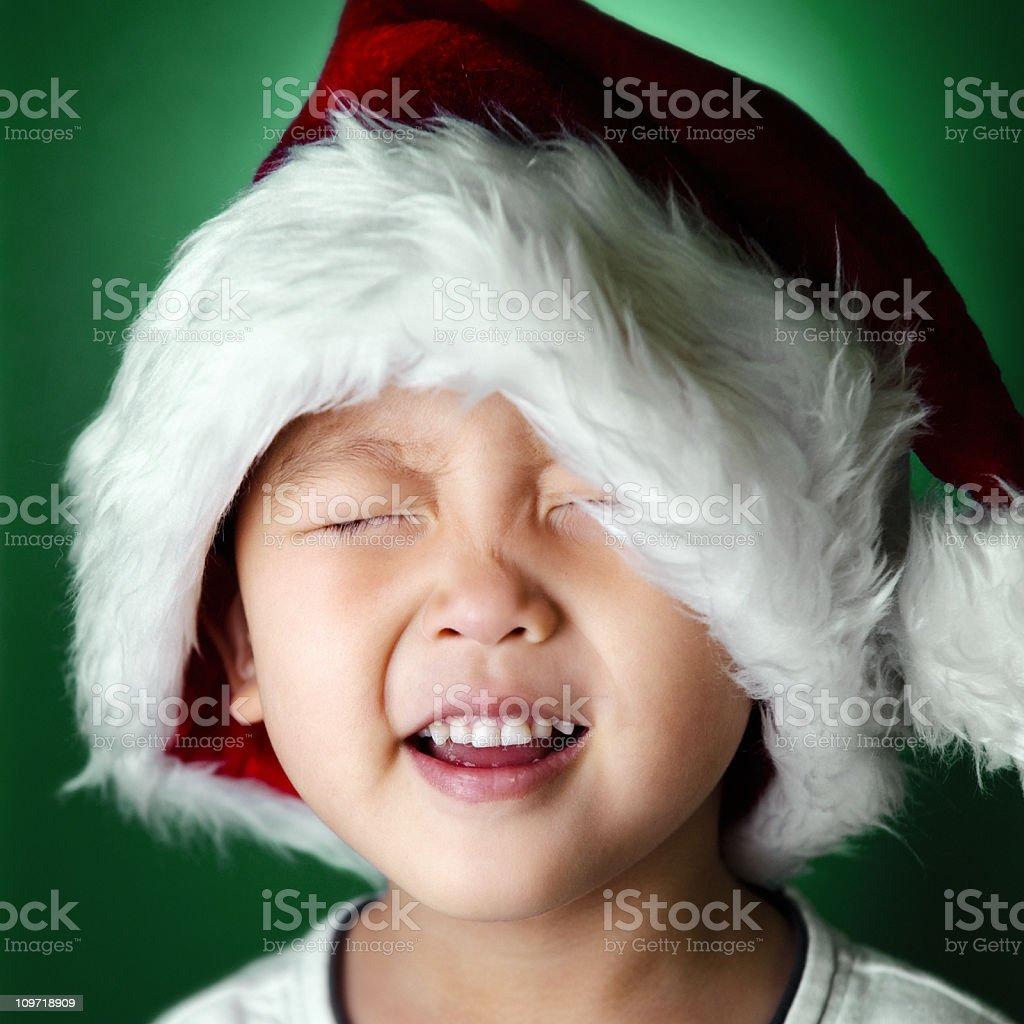 Santa Spirit royalty-free stock photo