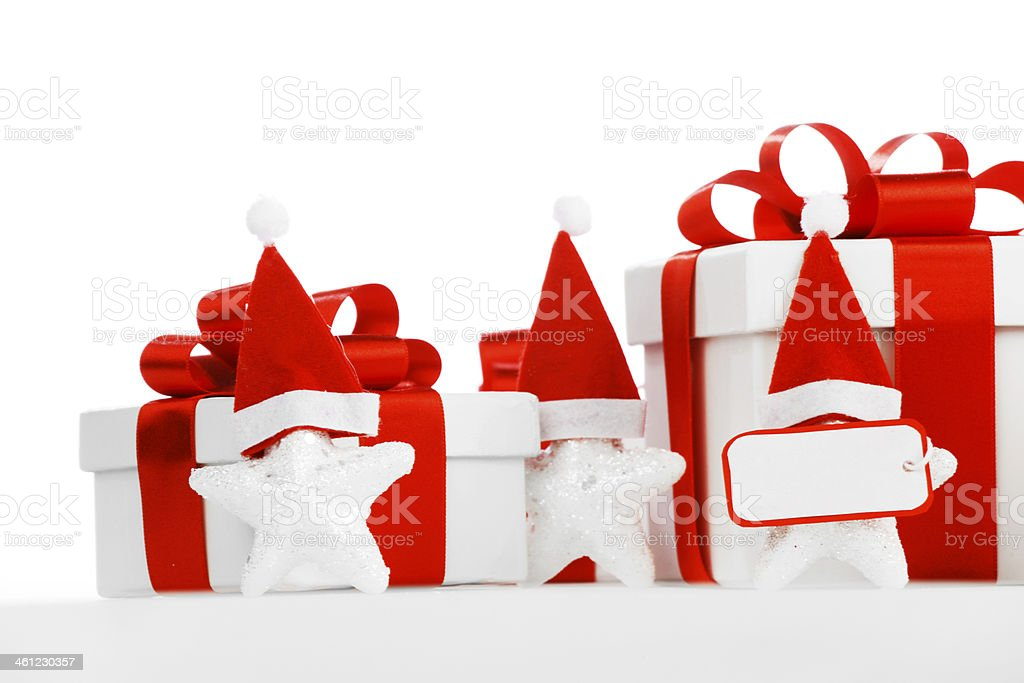 Santa Stars royalty-free stock photo