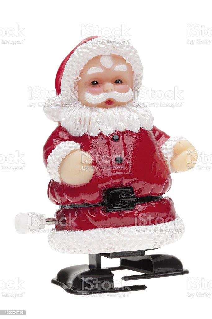 Santa toy royalty-free stock photo