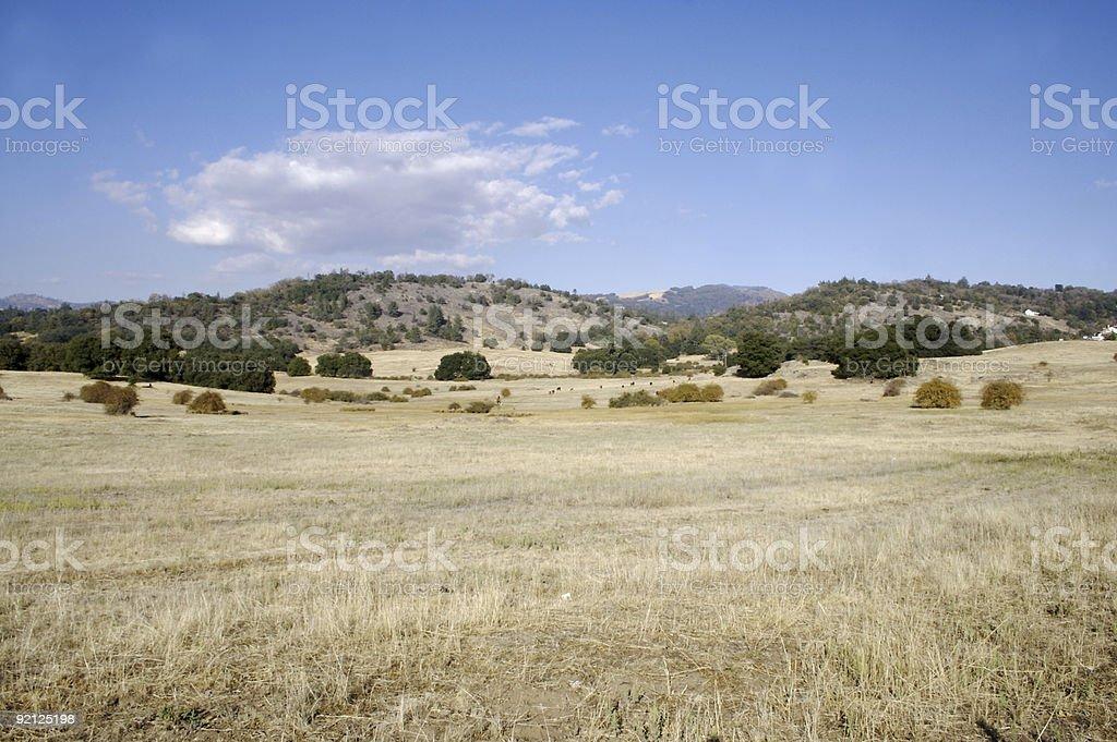 Santa Ysabel Valley, California stock photo