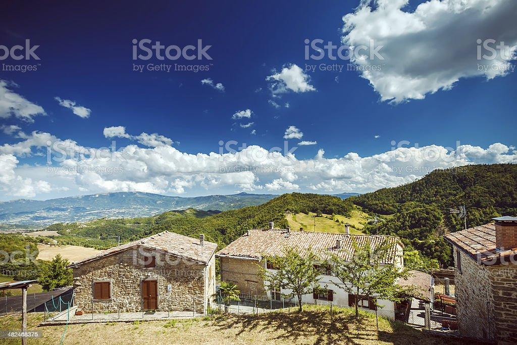 Sant'Agata Feltria, Italy royalty-free stock photo