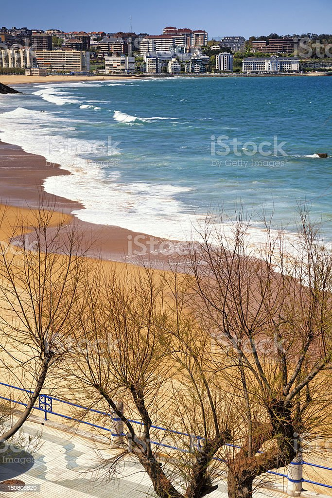 Santander in Northern Spain royalty-free stock photo