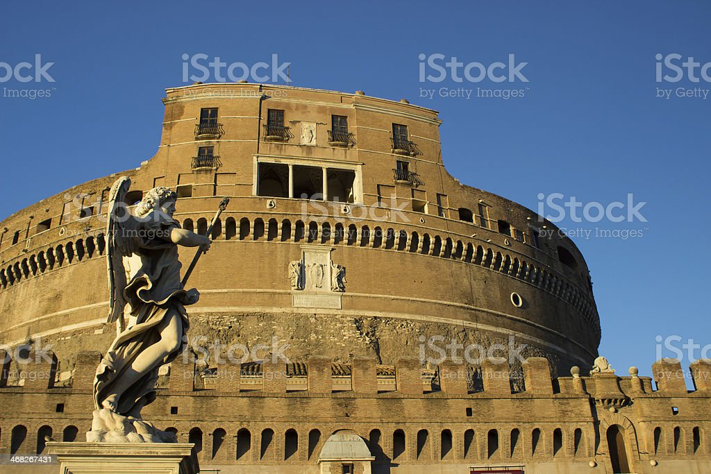 Sant'Angelo angel stock photo