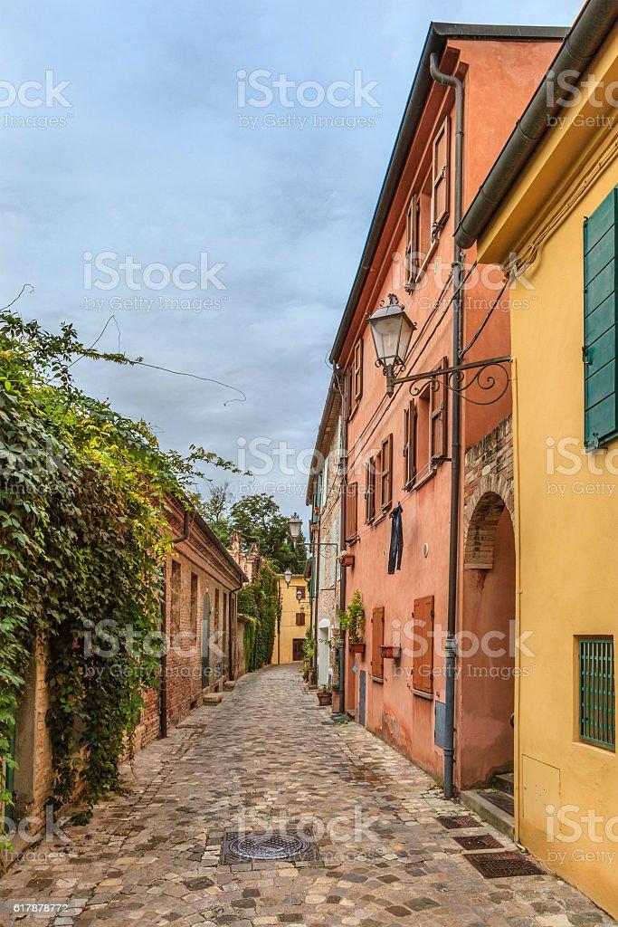 Santarcangelo di Romagna, Italy stock photo