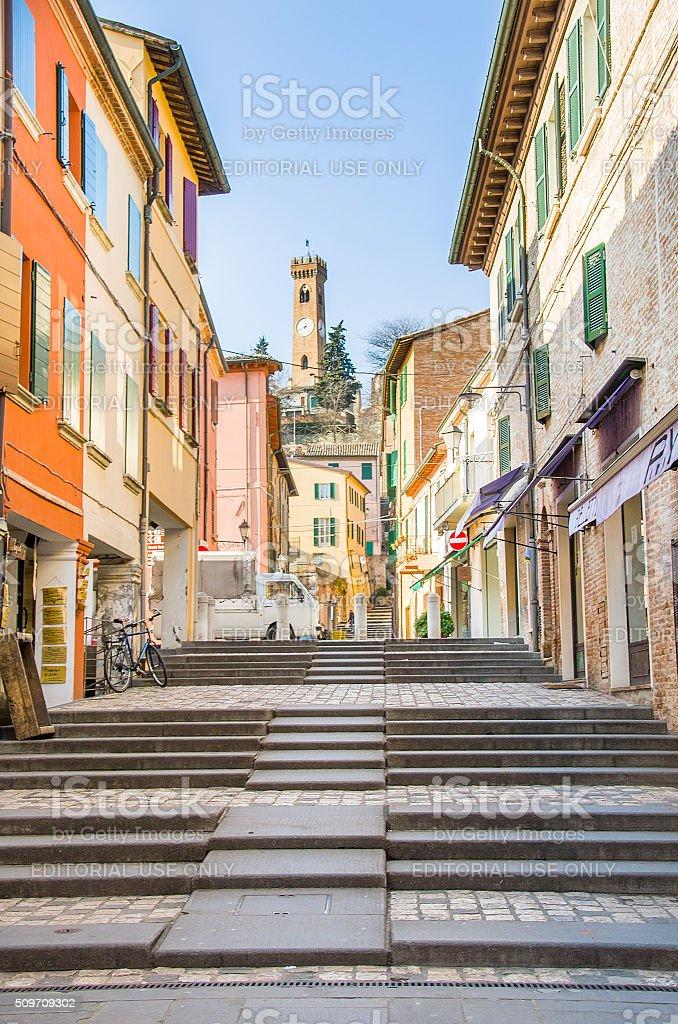 Santarcangelo di Romagna - Rimini stock photo