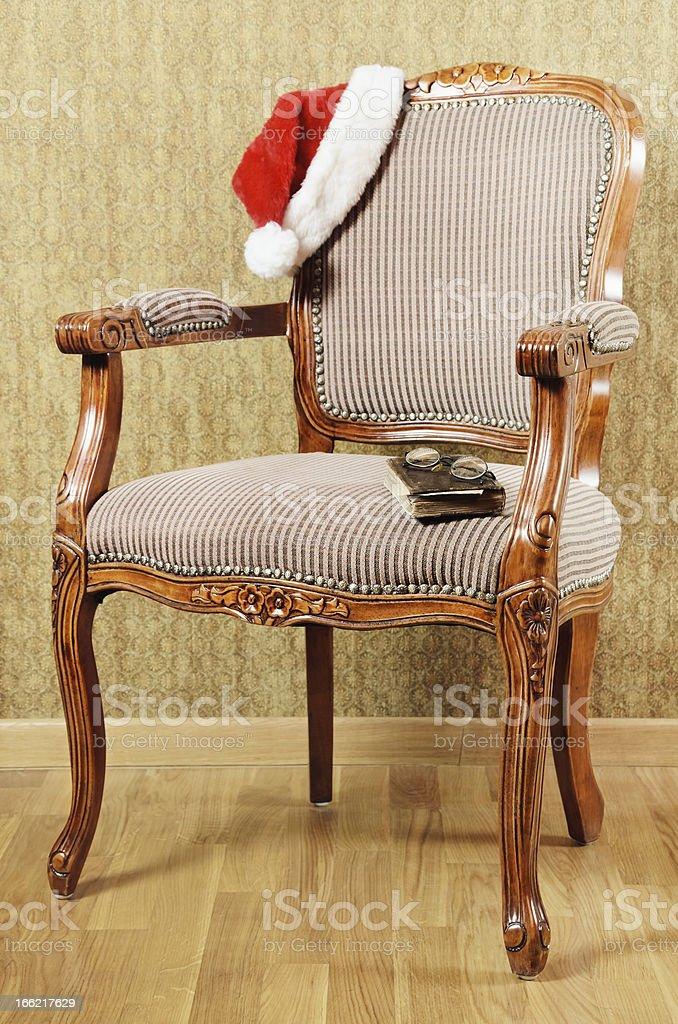 Santa's Armchair royalty-free stock photo
