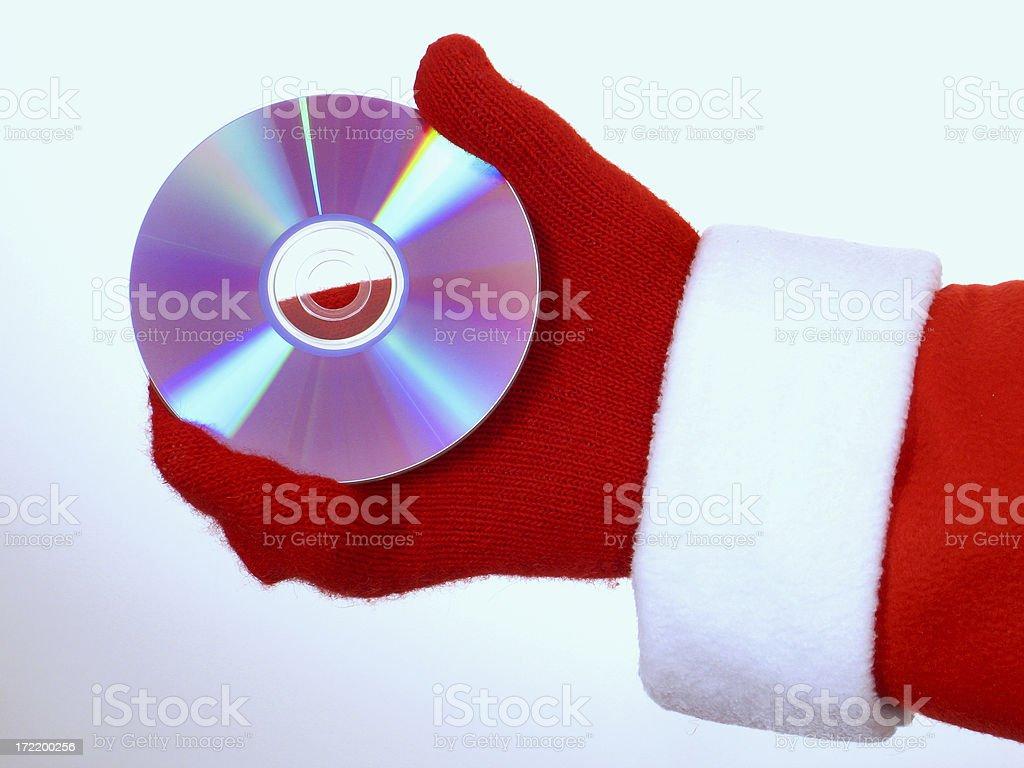 Santa's CD royalty-free stock photo