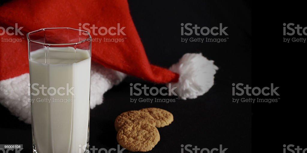 Santa's coming home tonight stock photo