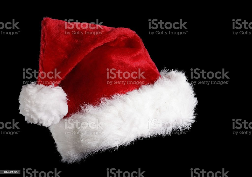 Santa's Hat stock photo