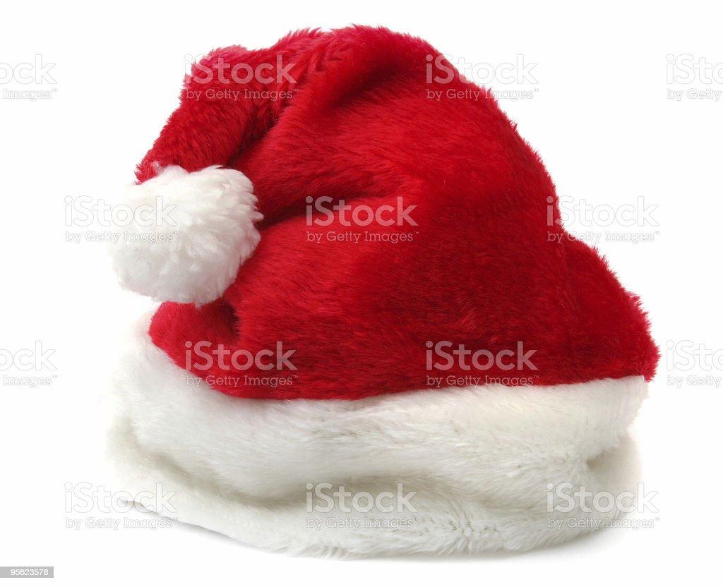 Santa's hat royalty-free stock photo