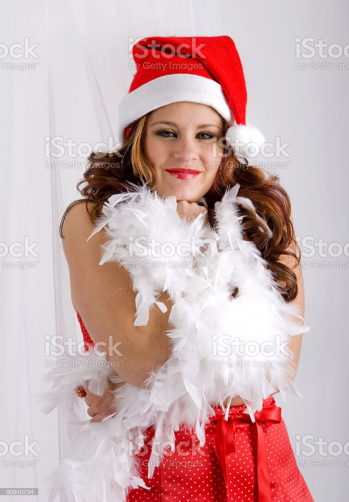 Santa's Helper royalty-free stock photo