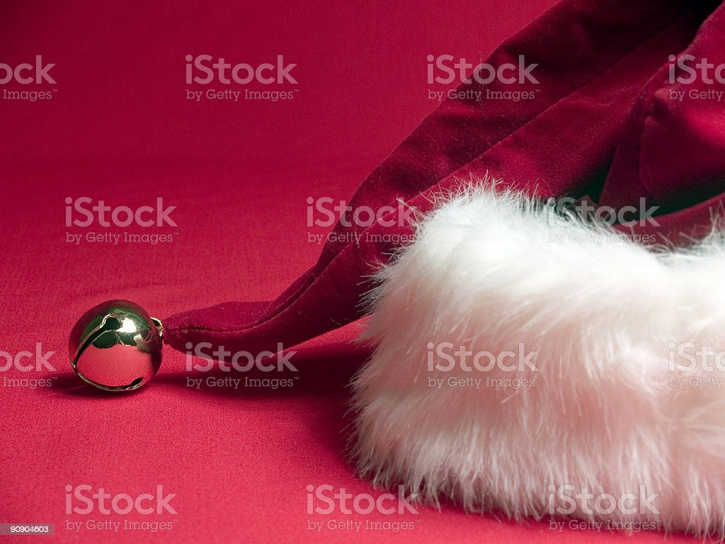 Santa's Here! royalty-free stock photo
