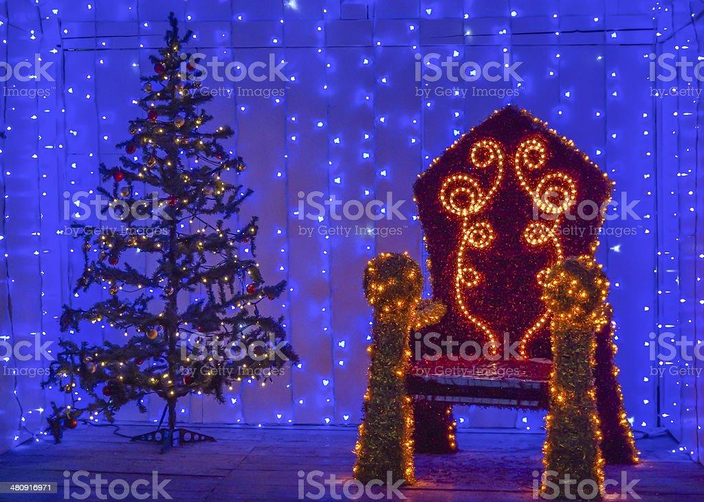 Santa's house royalty-free stock photo