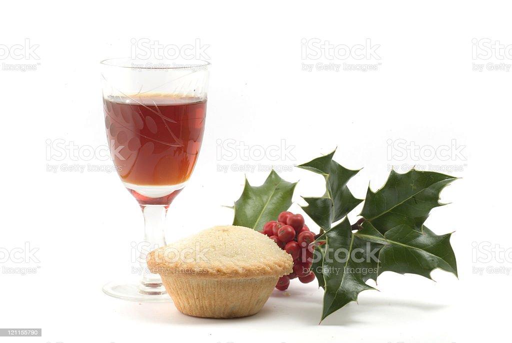 Santa's Supper royalty-free stock photo