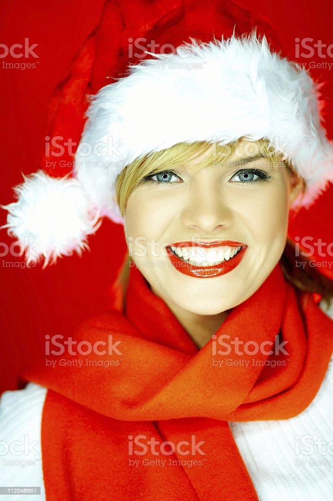 Santas Woman royalty-free stock photo