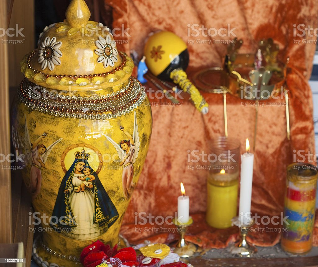 santeria royalty-free stock photo