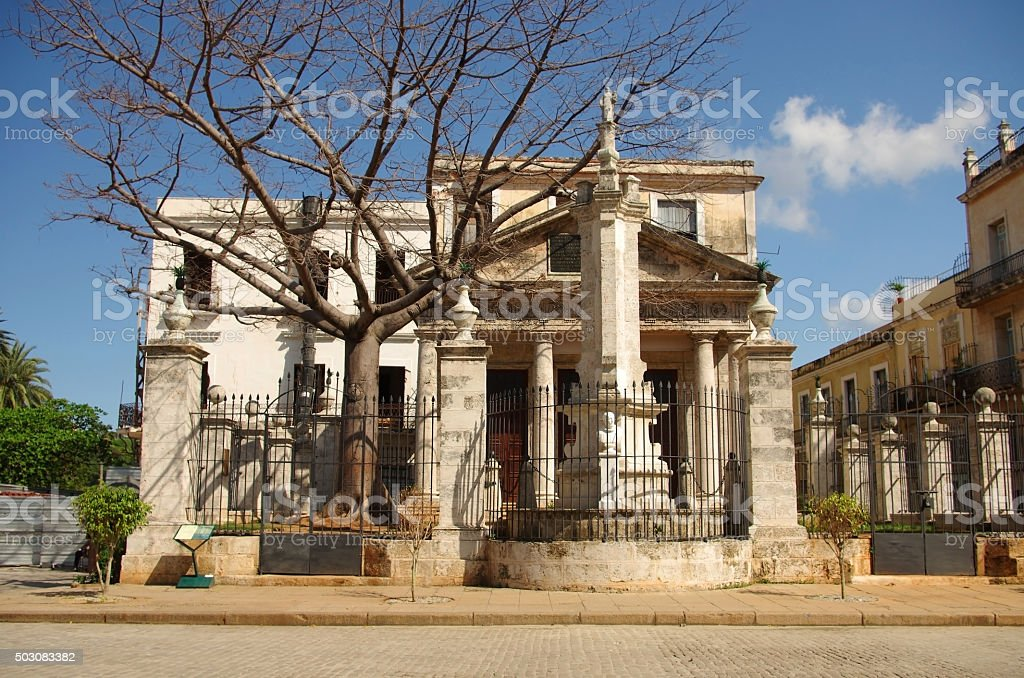 Santeria temple in Havana Cuba stock photo