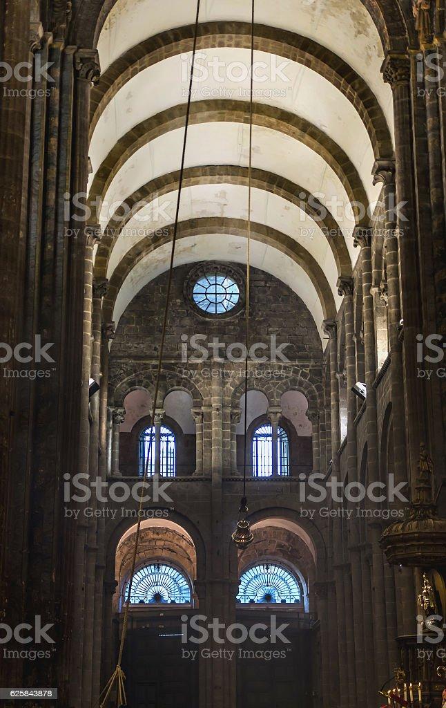 Santiago de Compostela Botafumeiro stock photo