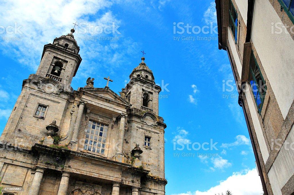 Santiago de Compostela, Galicia, Spain: Convent of San Francisco Church stock photo