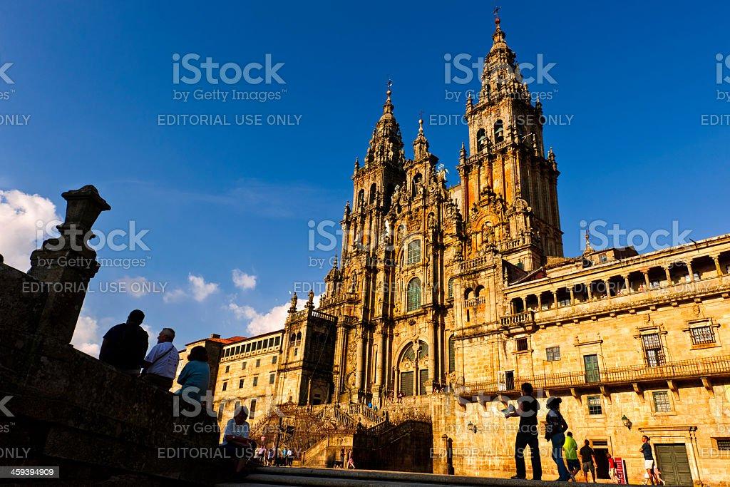 Santiago de Compostela, Galicia, Spain stock photo