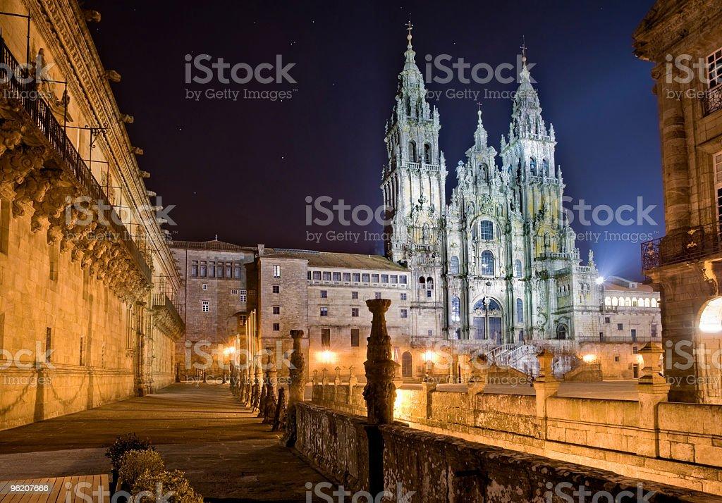 Santiago de Compostela stock photo