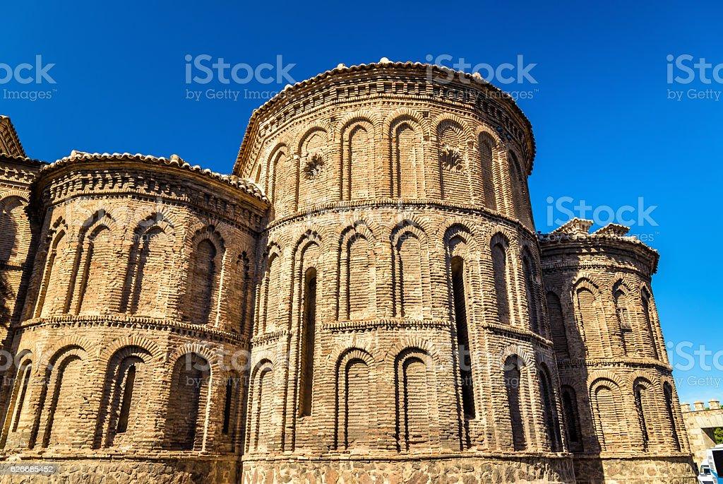 Santiago del Arrabal Church in Toledo, Spain stock photo