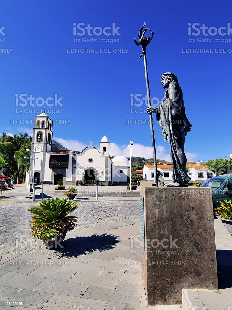 Santiago del Teide royalty-free stock photo